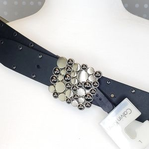 Calvin Klien Black leather Belt